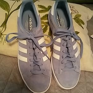Brand new Adidas suede shoes 8.0 men